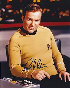 WILLAIM SHATNER (Star Trek) signed 8x10 Photo