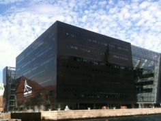 The Royal Danish Library in Copenhagen :) Det Kongelige Bibliotek - Den Sorte Diamant in København K, Region Hovedstaden