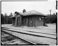 Train Depot in Aberdeen, Mississippi