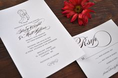 Söker du ett perfekt inbjudningskort? Vi visar inbjudningskort bröllop i olika färger, former och varianter!