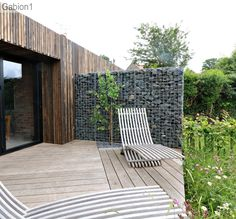 gabion wall for garden privacy http://www.gabion1.co.uk