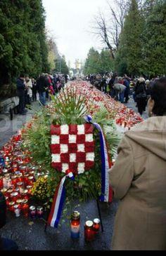 All Saints Day. Mirogoj Croatian Cemetery Zagreb