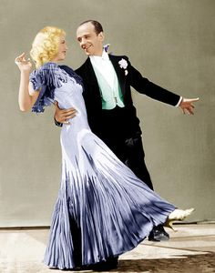 Ginger Rogers & Fred Astaire, The Gay Divorcee, 1934 (costume by Walter Plunkett)