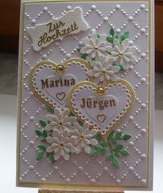 Glückwunschkarte+zur+Hochzeit+von+Wollzottel+auf+DaWanda.com