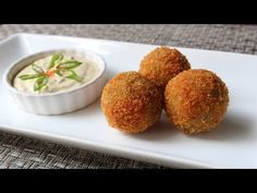 Crispy Fried Boudin Balls – Cajun-Style Pork & Rice Sausage Recipe Practical recipes video recipe – The Most Practical and Easy Recipes Cajun Recipes, Sausage Recipes, Gourmet Recipes, Cajun Food, Chef John Recipes, Roasted Banana, Food Wishes, Finger Foods, Kitchens