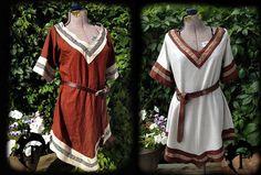 Ajuste personalizable Viking túnica de las mujeres por FeralCrafter