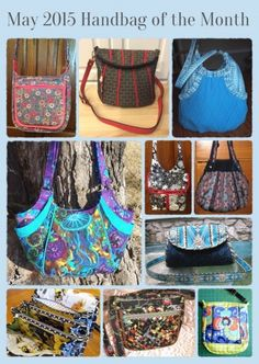 Voting has started on our May contest! it's time to pick YOUR favorite!  :) May 2015 Handbag of the Month | Studio Kat Designs