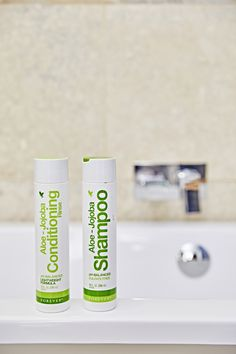 Discover amazingly shiny and manageable hair with this #aloevera and #jojoba oil-infused #shampoo and conditioner. http://wu.to/SLAy7k
