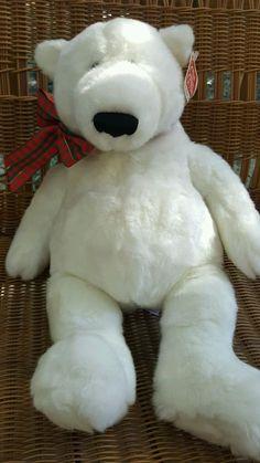40abff4fa69 Gund Klondike Teddy Bear White Plush 18