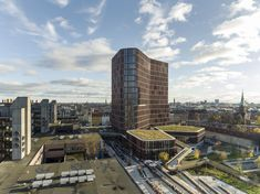 Completed in 2017 in København N, Denmark. Images by Adam Moerk, BYGST and Dragør Luftfoto, Mads Mandrup, Stamers Kontor. The Maersk Tower is a state-of-the-art research building whose innovative architecture creates the optimum framework for world-class health research,...