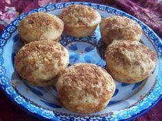 Brown Sugar Cinnamon Muffins or bake in a pan