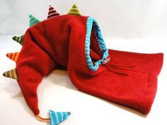 """Diese Mütze ist farbenfroh und macht gute Laune. Jede """"triste"""" Jacke wird aufgehübscht und zum Hingucker.   Sie ist aus hochwertigem Fleece  genäht..."""