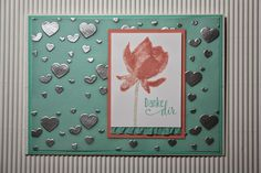 Features Stampin Up's sale-a-bration Lotus Bloom stamp set and Perpetual calendar stamp set. Stretchband mit R�schen