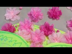 Paper Napkins, Tissue Paper, Paper Flowers, Paper Crafts, Youtube, Paper Flower Decor, Lotus Flower, Paper Envelopes, Paper Towels