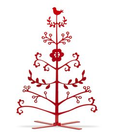 Nordic Holiday Ornament Tree