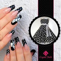 #nails #pinup #pinupstyle #nailtrend