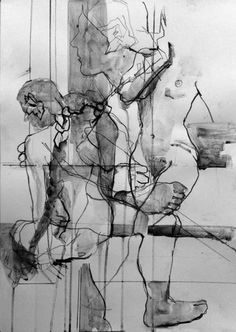 charcoal drawing abstract - Google Search