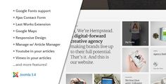 Hempstead :: Responsive Joomla Portfolio Template