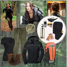 Katniss, truly outdoorsy and functional Hunger Games costume Divergent Outfits, Hunger Games Outfits, Hunger Games Costume, Hunger Games Fandom, Fandom Outfits, Hunger Games Trilogy, Katniss Costume, Halloween Party, Halloween Costumes