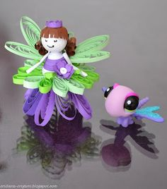 Clara's Paper Garden: Little fairy