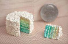 fake cake of aqua and buttercream by FatalPotato on deviantART