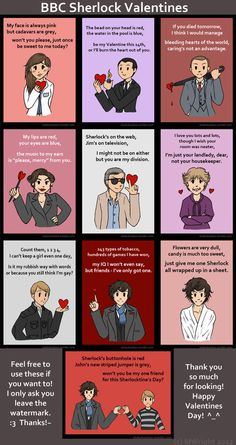 """""""Flowers are very dull,  candy is much too sweet,  just give me one Sherlock  all wrapped up in a sheet.""""    .... """"I KNOW WHAT I WANT FOR VALENTINE'S DAY!!!!"""""""