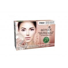 Bio Pearl White Facial Kit with Pearl Bhasma -  This Pearl White Facial Kit has Pearl Bhasma and helps to get fairer complexion. This kits contains the following products which is suitable for 2 facial sessions.  Pearl White Face Scrub- 15 GM Pearl White Massage Gel- 15 GM Pearl White Face Pack- 15 GM Pear White Fairness Face Cream- 15 GM FREE Swiss Magic Dark Spot Corrector- 15 GM