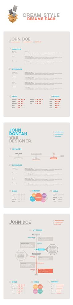 resume, charts and graphs, and infogragh