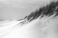 #beach #outerbanks #nagshead #monochrome #blackandwhite #shotonfilm