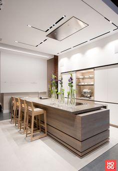 Moderne keuken design in kantoor   keuken design   kitchen ideas   Hoog.design