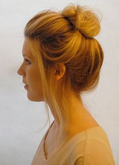 Top Knot Bun Hairstyle Ideas 2018