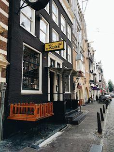 Cafe de Klos, Amsterdam, Netherlands #amsterdam #netherlands #europe #travel #cafedeklos
