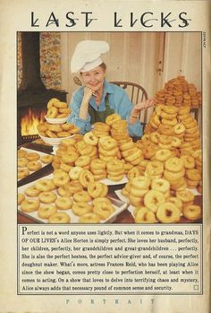 Alice and he famous donuts