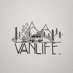 Cute Drawings, Doodle Drawings, Doodle Art, Tattoo Drawings, Keep It Simple, Simple Art, Travel Drawing, Travel Logo, Pyrography