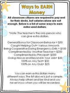 Great classroom economy blog post with free Help Wanted Posters. Excellent.  Idea comes from Teach Like Your Hair is on Fire book.