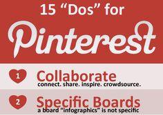15 Pinterest Tips  #CONNECTSHAREPROSPER