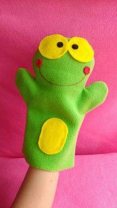 Easy DIY Felt Crafts, Felt Crafts Patterns and Felt Crafts Animals. Felt Crafts Patterns, Felt Crafts Diy, Puppet Patterns, Felt Diy, Felt Puppets, Puppets For Kids, Hand Puppets, Sewing For Kids, Diy For Kids