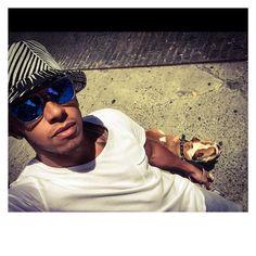 Runnin thru the streets wit my woe! #coconut #bestbuddies #NYC
