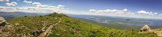 Hiking Myron Avery Peak on the Appalachian Trail to celebrate Myron's Walk with Sierra Nevada.
