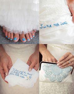 Wedding Photo Musts: Your Something Blue