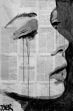 Creative ink drawing