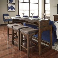 Liberty Furniture Industries Heatherbrook Console Table with