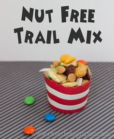 A trail mix for kids with nut allergies!