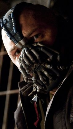 """Tom Hardy as Bane in """"The Dark Knight Rises"""" Bane Batman, Batman Dark, Batman The Dark Knight, Batman And Superman, Batman Stuff, Spiderman, The Dark Knight Trilogy, The Dark Knight Rises, Tom Hardy Bane"""