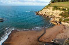 Playa de La Ñora. Villaviciosa.