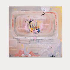 "Radim Koros ""civilization"" (2014) 104/94 mixed media on canvas"