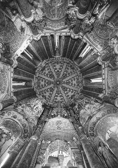 Convento de Cristo, Tomar (Portugal) by Biblioteca de Arte-Fundação Calouste Gulbenkian, via Flickr