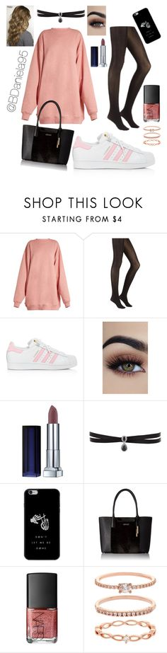 """""""Untitled #217"""" by daniela95140 ❤ liked on Polyvore featuring Acne Studios, adidas, Maybelline, Fallon, Calvin Klein, NARS Cosmetics and Accessorize"""