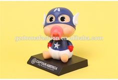 Wholesale PVC The avenger alliance 2 captain America Shaking his head doll action figure, View captain America, donnatoyfirm Product Details from Guangzhou Donna Fashion Accessory Co., Ltd. on Alibaba.com