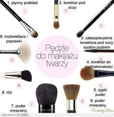 Pędzle do makijażu in 2020 Best Beauty Tips, Beauty Secrets, Beauty Hacks, Daily Beauty Routine, Beauty Routines, Makeup Remover, Makeup Brushes, Makeup Tips, Eye Makeup